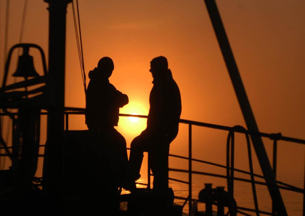Insel Rügen: Angler müssen jetzt ganz ganz tapfer sein! Und FRECH!
