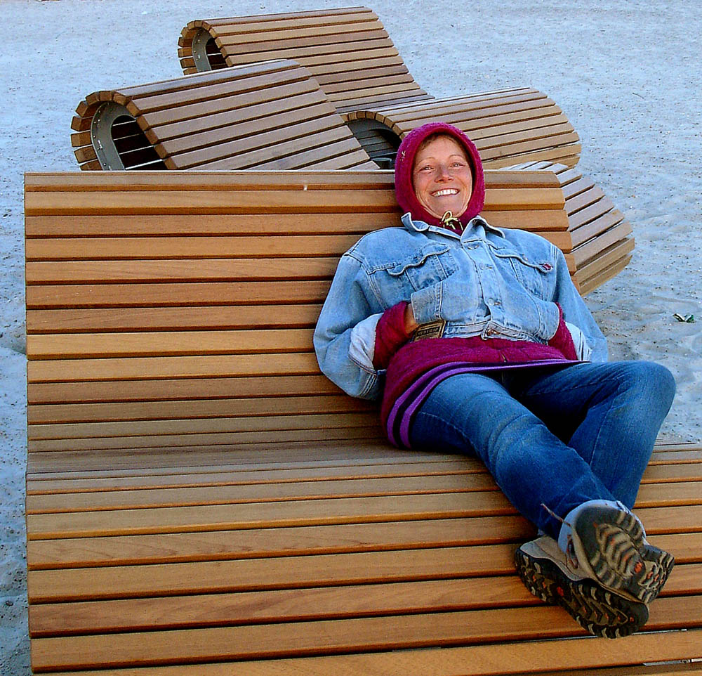 Der Strand in Altefähr auf Rügen macht endlich wieder Spaß