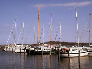 Der Lauterbacher Yachthafen