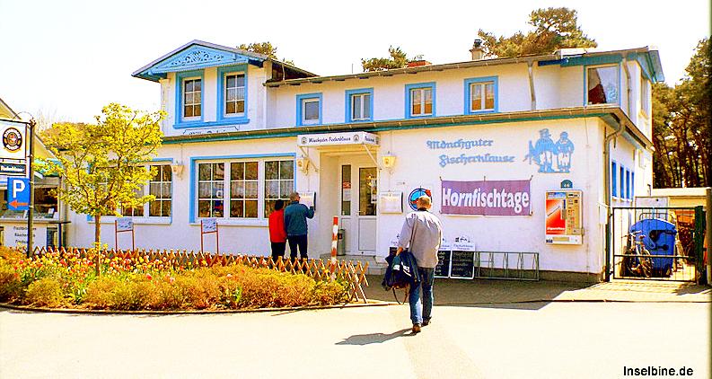 Insel Rügen: ECHTEN, leckeren Ostsee-Backfisch gibt es nur in Thiessow.