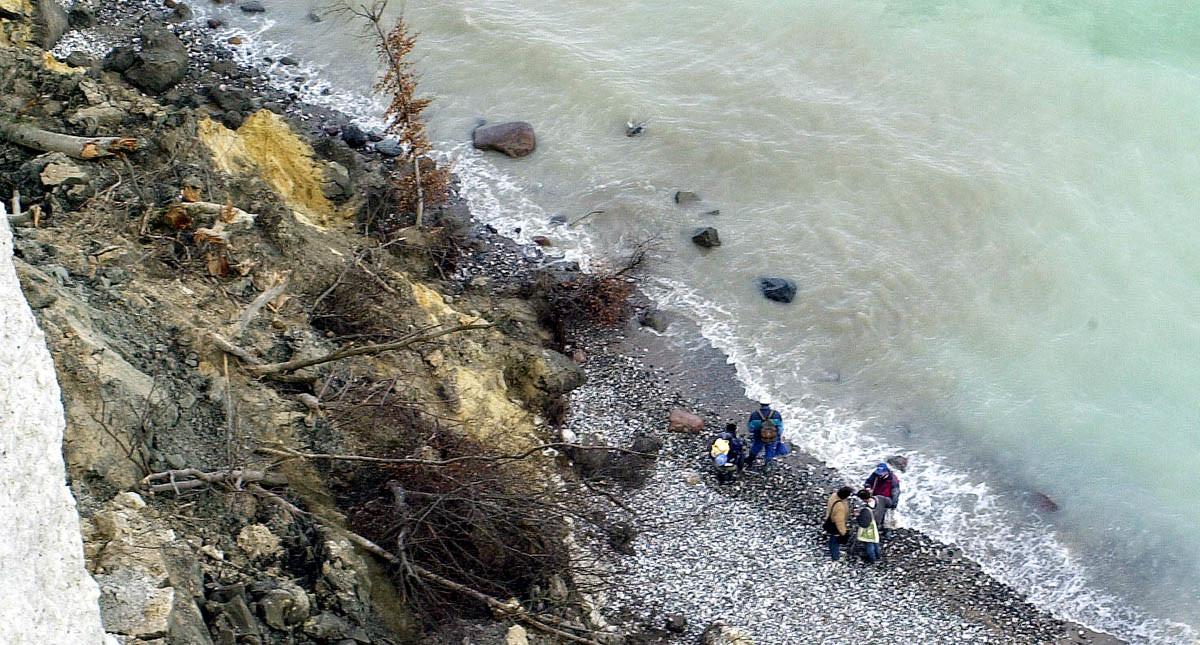 Insel Rügen: Faszination und Gefahr der Rügener Kreideküste: Update # 02 – wieder ein tödlicher Absturz