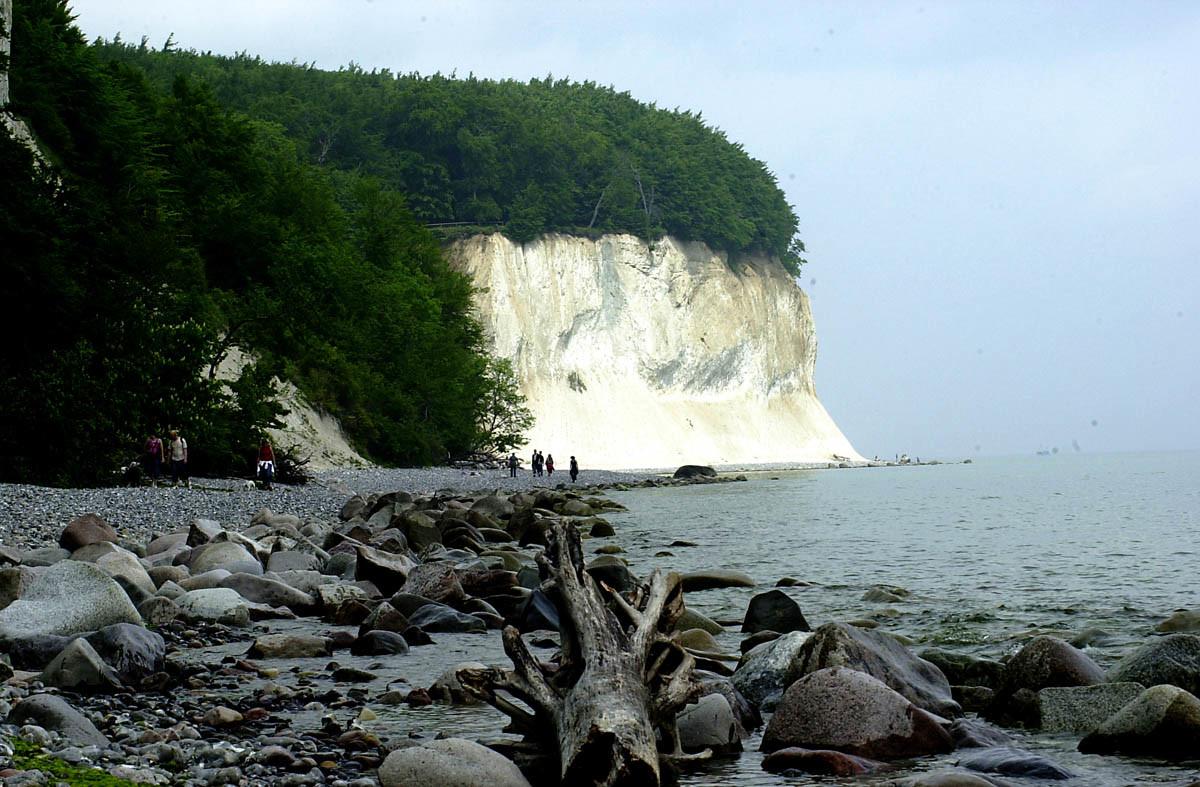 Insel Rügen: Faszination und Gefahr der Rügener Kreideküste. 21-jährige tödlich verunglückt!