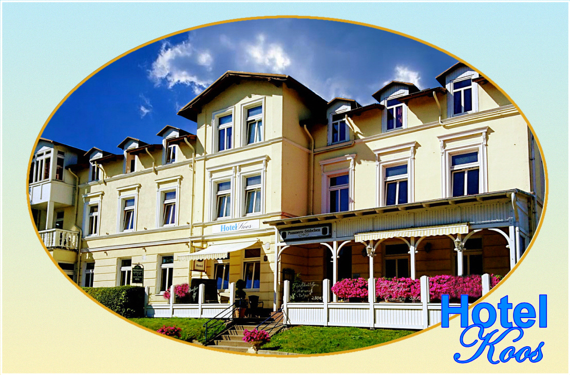 Schlafen in Putbus? Es gibt da ein gut gelegenes  Hotel…!