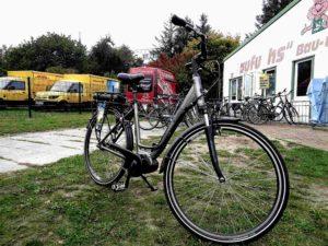 Glücklich und zufrieden konnte ich das Fahrrad nach einer spannenden Reise wieder abgeben.