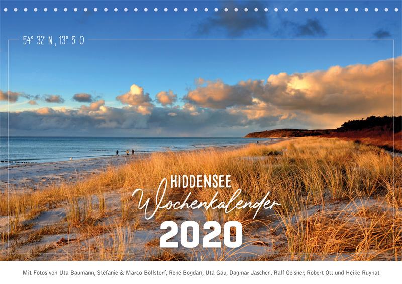 Jetzt gibt es wieder den Hiddensee-Wochenkalender